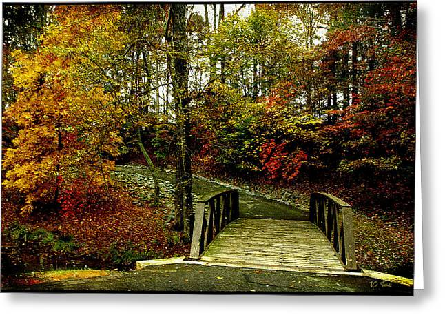 Greeting Card featuring the photograph Autumn Peace by James C Thomas