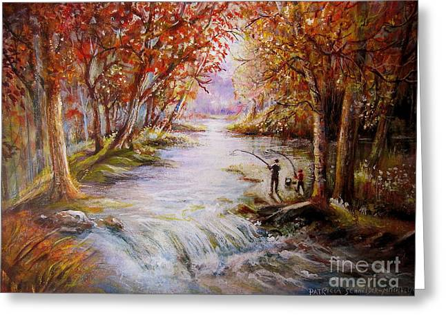 Autumn Peace Greeting Card