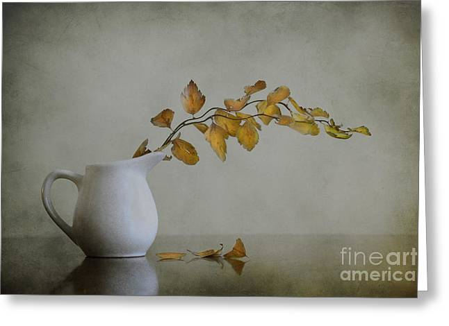 Autumn Still Life Greeting Card by Diana Kraleva