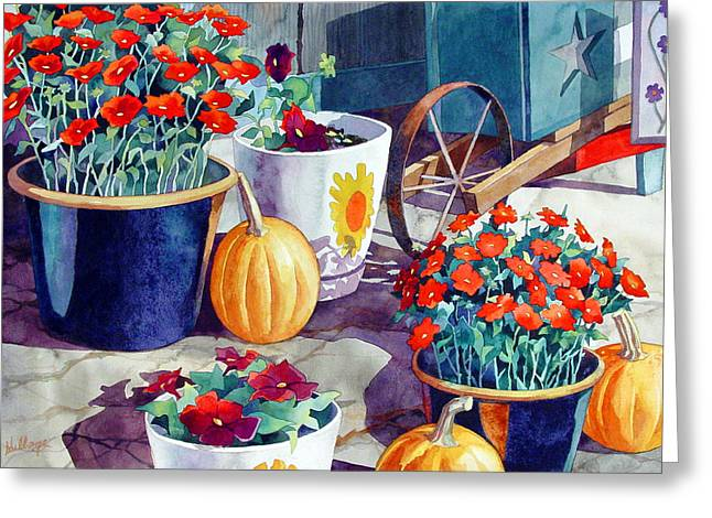 Autumn Still Life Greeting Card by Mick Williams