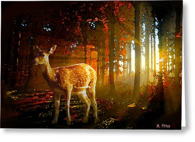 Autumn Study Greeting Card