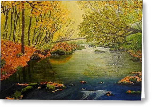 Autumn Greeting Card by Svetla Dimitrova