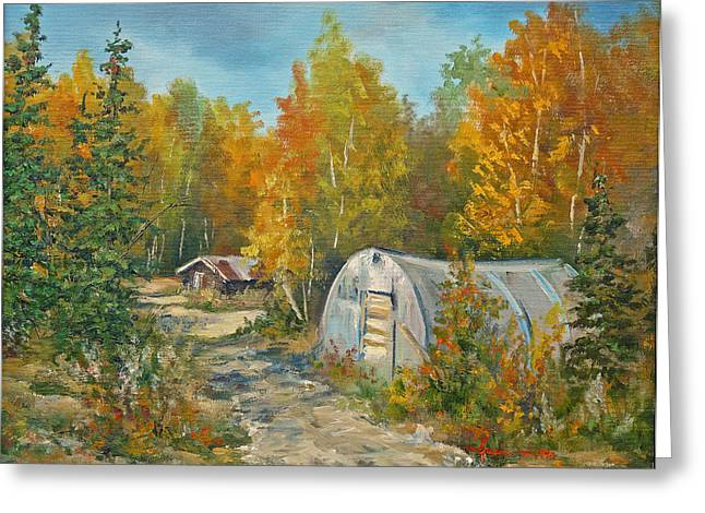 Autumn Tapestry  Greeting Card by Gracia  Molloy