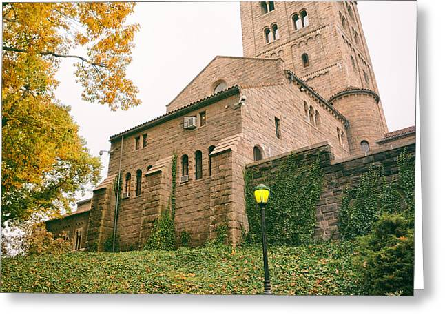 Autumn - The Cloisters - New York City Greeting Card