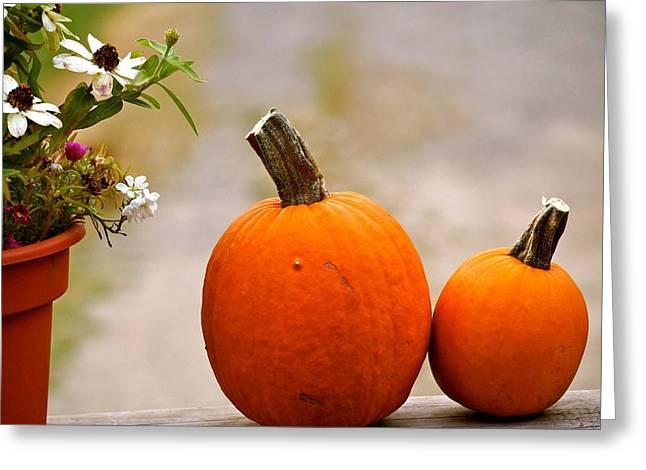 Autumn Waits  Greeting Card by Danielle  Broussard