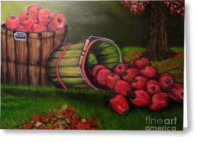 Autumn's Bounty In The Volunteer State Greeting Card by Kimberlee Baxter