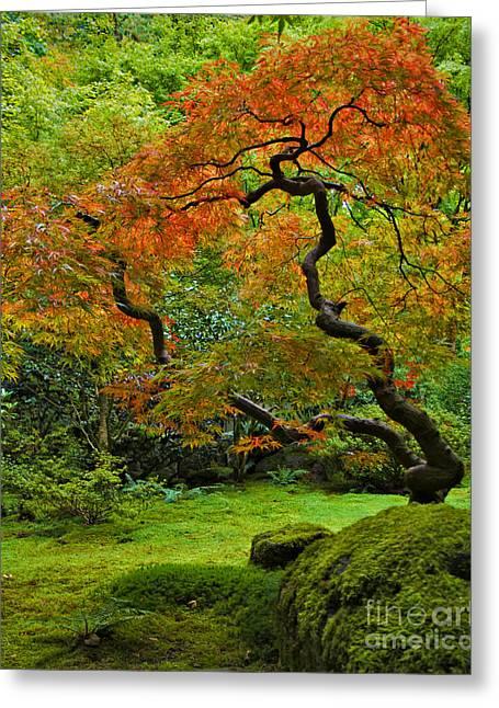 Autumn's Paintbrush Greeting Card