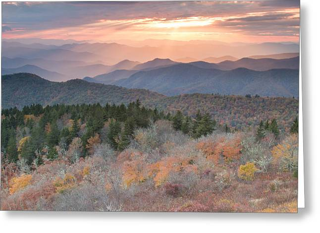 Autumn's Resplendence Greeting Card by Doug McPherson