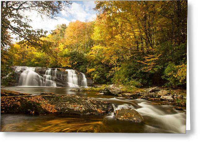 Autumn's Magic Greeting Card by Doug McPherson