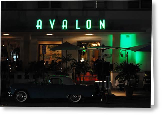 Avalon Hotel Greeting Card