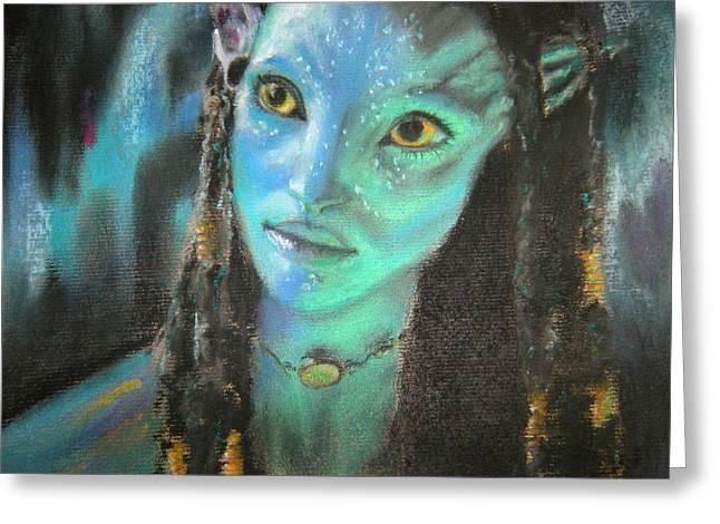 Avatar Greeting Card
