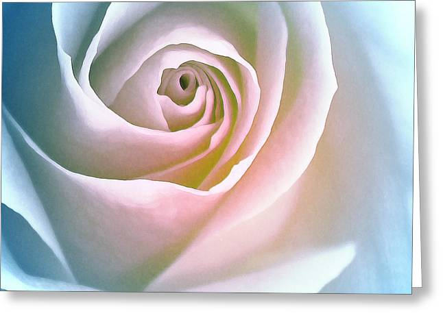 Ave Maria Greeting Card by The Art Of Marilyn Ridoutt-Greene