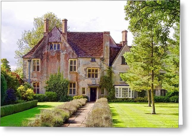 Avebury Manor -1 Greeting Card
