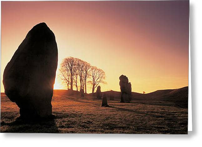 Avebury Wiltshire England Greeting Card by Panoramic Images