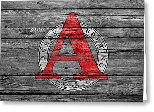 Avery Brewing Greeting Card by Joe Hamilton