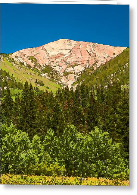Avery Peak Greeting Card