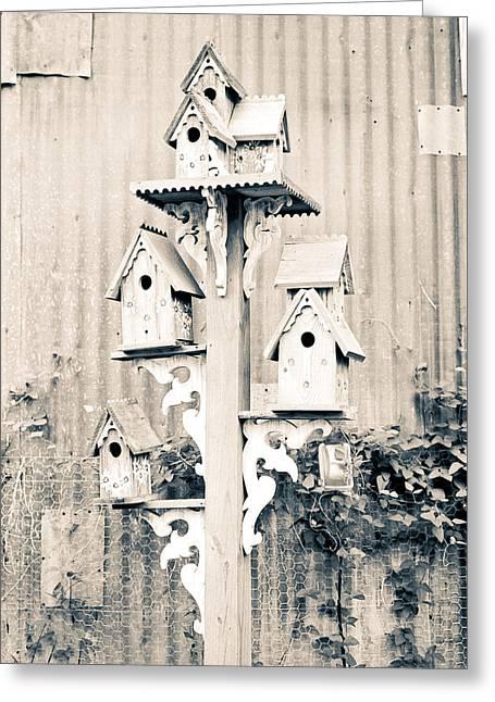 Avian Castle Greeting Card