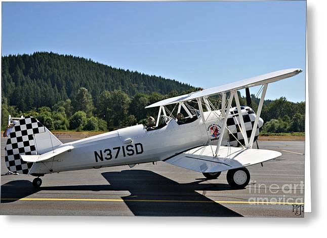 Greeting Card featuring the photograph Aviation Dreams by Mindy Jo Bench