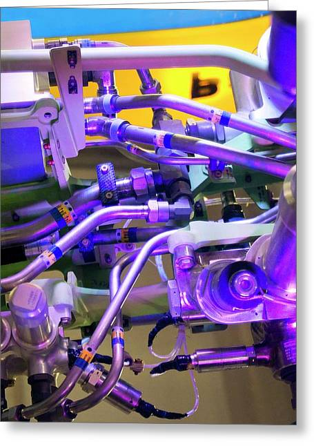 Aviation Pipework Greeting Card