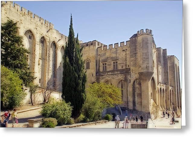 Avignon - Palais Des Papes Greeting Card by Rod Jones