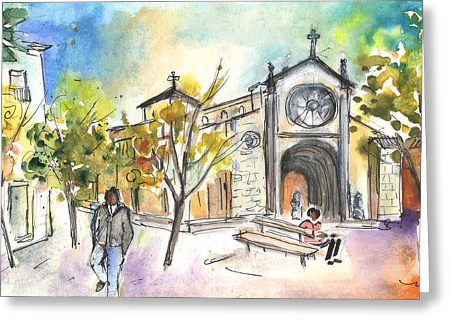 Avila 06 Greeting Card by Miki De Goodaboom