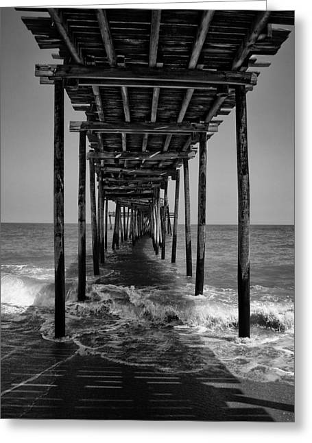 Avon Fishing Pier Greeting Card