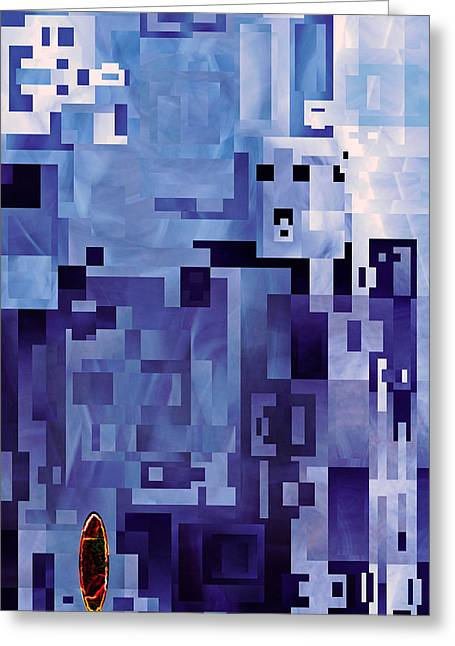 Awe Of Yourself Equally Matched 2013 James Warren Greeting Card