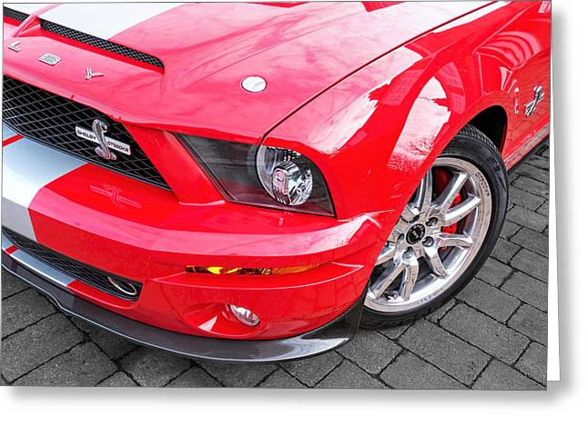 Awesome Mustang - Shelby Gt500 Kr Greeting Card