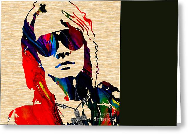 Axl Roxe Collection Greeting Card by Marvin Blaine