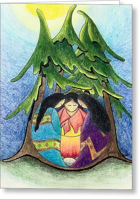 Ayllu Sisterhood  Greeting Card