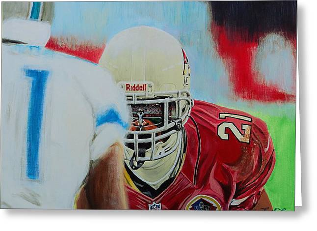 Az Cardinals Patrick Peterson Greeting Card