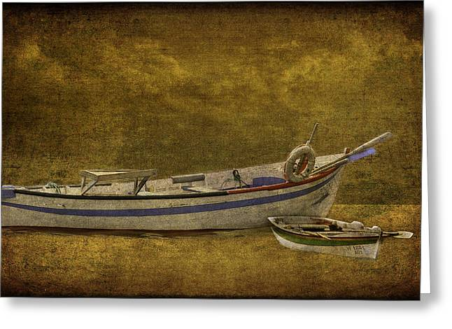 Azorean Fishing Boats Greeting Card