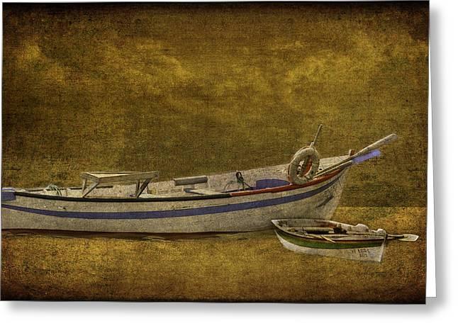 Azorean Fishing Boats Greeting Card