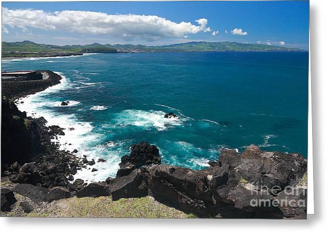 Azores Islands Ocean Greeting Card