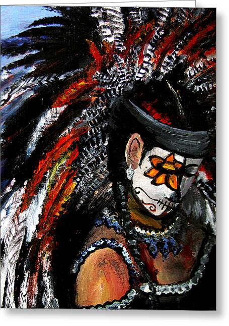 Aztec Celebration Greeting Card