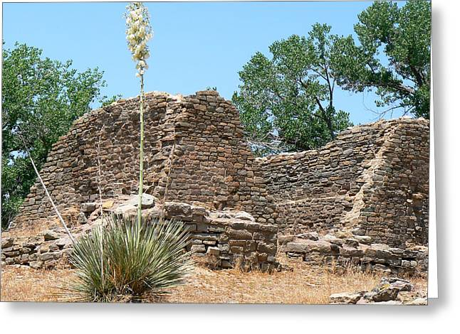 Aztec Ruins National Monument Greeting Card by Laurel Powell