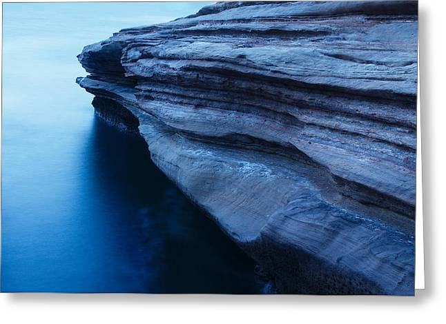 Greeting Card featuring the photograph Azure Stubbornness by Photography  By Sai