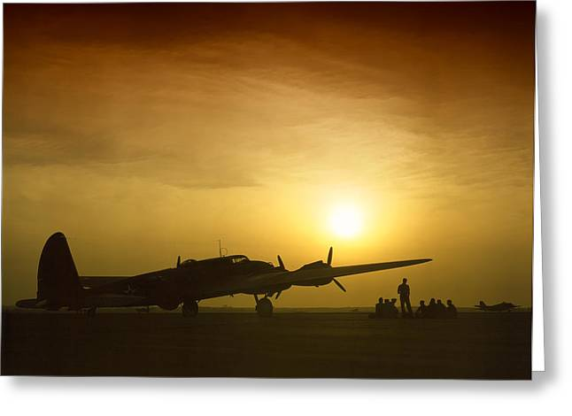 B-17 Flying Fortress - 1942 Greeting Card