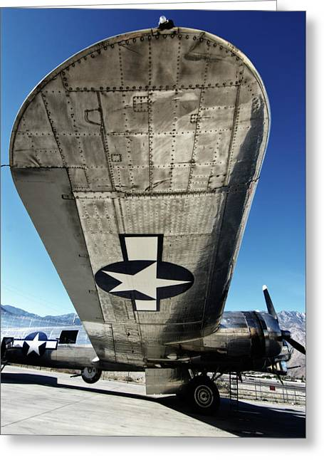 B 17 Sentimental Journey Greeting Card