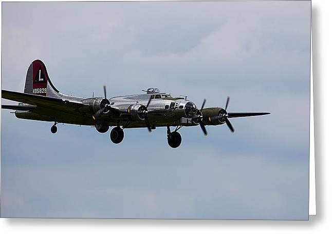 B-17 Yankee Lady Greeting Card