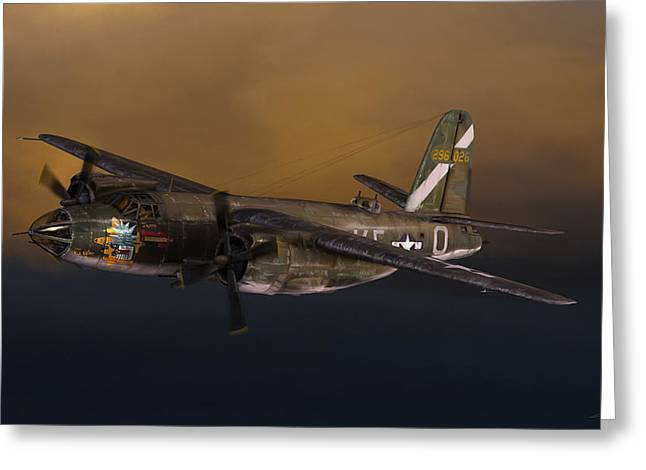 B-26 Marauder Greeting Card by Dale Jackson