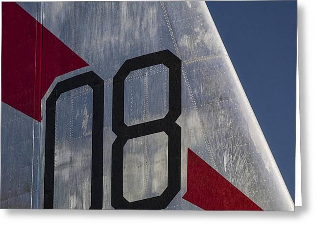 B-45a Tornado Bomber Greeting Card