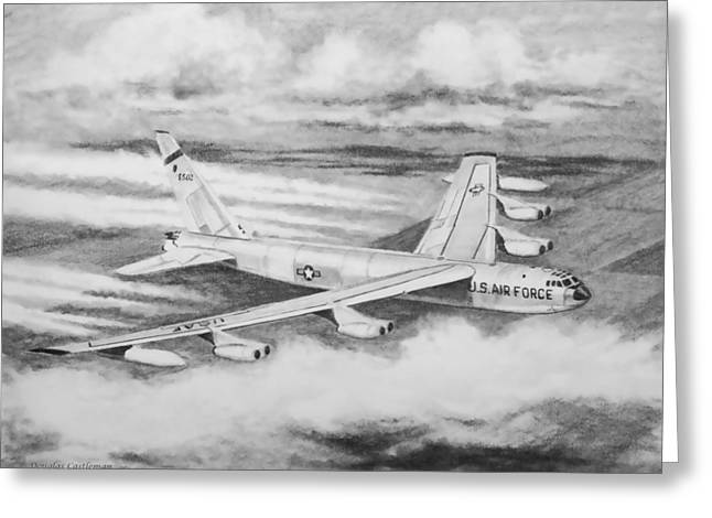 B-52 Greeting Card