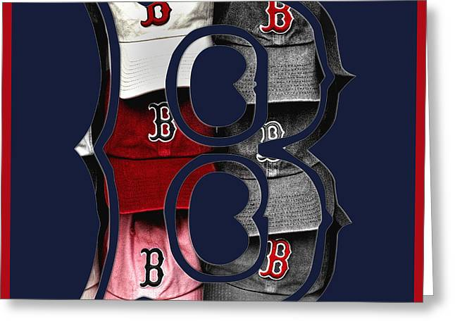 B For Bosox - Boston Red Sox Greeting Card