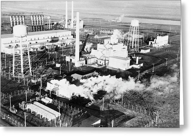 B Reactor Greeting Card by Library Of Congress