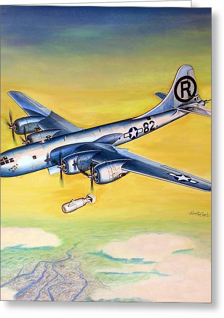 B29  Enola Gay Greeting Card
