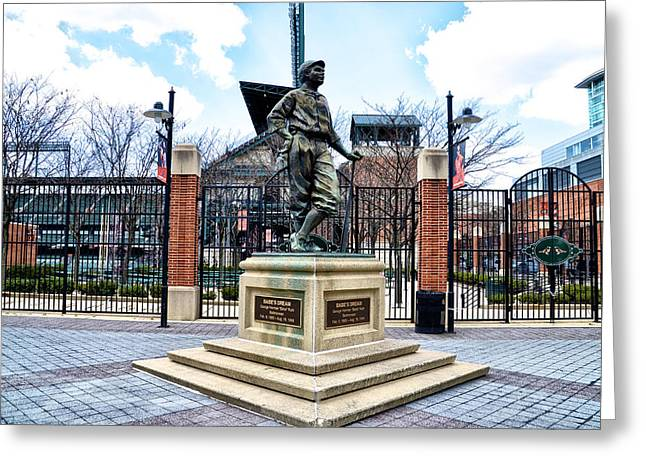 Babes Dream - Camden Yards Greeting Card by Bill Cannon