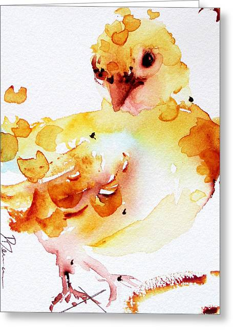 Baby Greeting Card by Dawn Derman