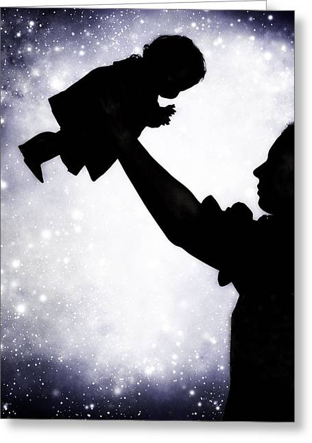 Baby Doll Greeting Card by Joana Kruse