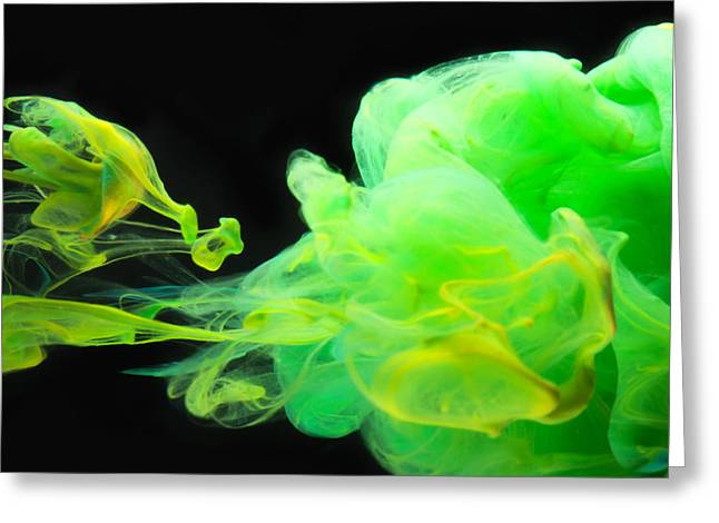 Baby Dragon - Abstract Photography Wall Art Greeting Card